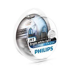 Лампы галогенные Philips CRYSTAL VISION CV H1 ВОХ
