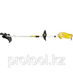 Триммер  электрический DT- 1200, 1200 Вт, 380 мм, катушка+диск// Denzel