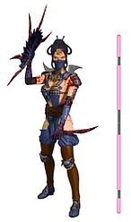 Mortal Kombat X - Китана (окровавленная)
