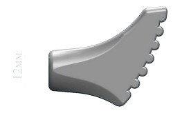 Резиновые наконечники для палок NWALK 12 мм (Украина)
