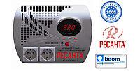 Стабилизатор напряжения электронный (релейный) 1 кВт - Ресанта ACH-1000Н2/1-Ц - настенный, фото 1