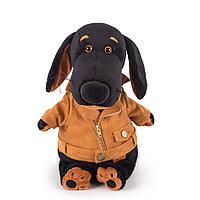 """Мягкая игрушка """"Собачка Ваксон в косухе"""" (25 см)"""