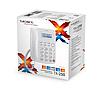 Телефон проводной Texet TX-250 белый, фото 2