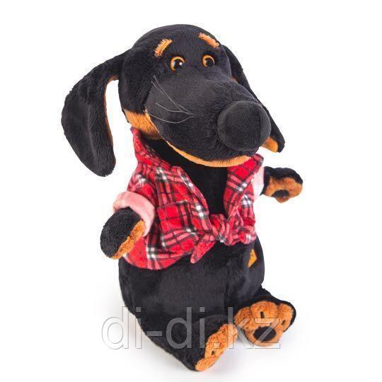 "Мягкая игрушка ""Собачка Ваксон в рубашке"" (29 см)"