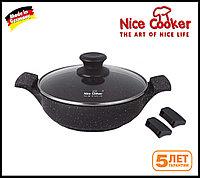 Сотейник с каменным покрытием Nice cooker 28