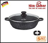 Сотейник с каменным покрытием Nice cooker 32