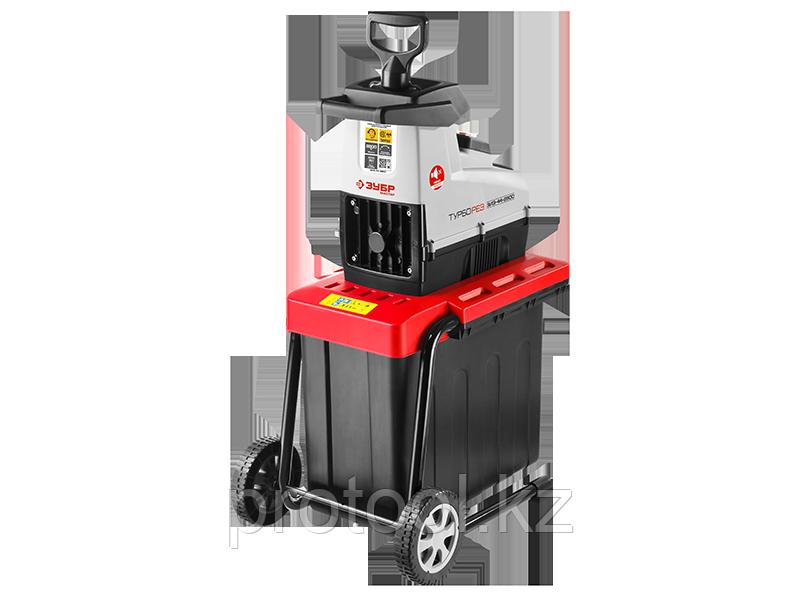 Электрический измельчитель Зубр, р/с 44, контейнер 60 л, 2800 Вт - фото 2