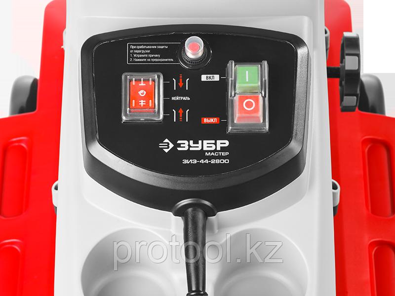 Электрический измельчитель Зубр, р/с 44, контейнер 60 л, 2800 Вт - фото 3