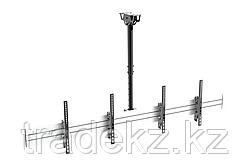Кронштейн для видеопанелей потолочный Brateck LVC02-246TS-01