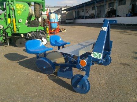Рассадопосадочная машина AGRO-MAX 2хрядная