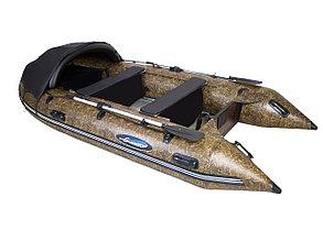 Моторная лодка ПВХ GLADIATOR C 400 AL CAMO с алюминиевым полом