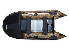 Моторная лодка ПВХ GLADIATOR C 400 AL CAMO с алюминиевым полом, фото 3