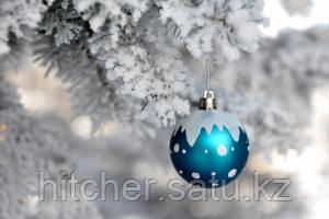Подарок к заснеженной ёлки с 3D снегом от hitcher.kz