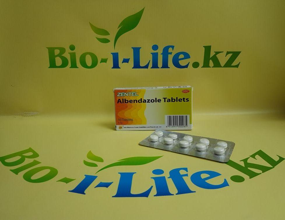 Таблетки от паразитов - Albendazole Tablets 10 таблеток по 0,2 g