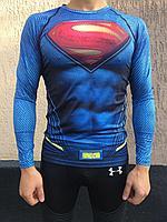 Рашгард с длинным рукавом Superman, фото 1