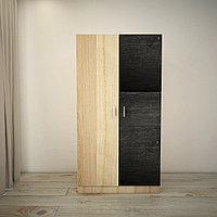 Распашной шкаф с дверью из грифельной доски