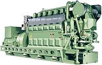Судовой двигатель MAN