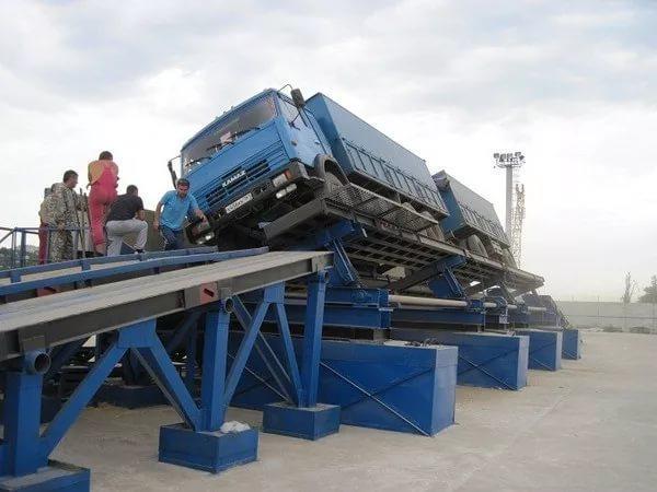Автомобилеразгрузчик АВС-50