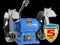 Cтанок точильный двойной, ЗУБР Профессионал, лампа подсветки, D250х25хd32 мм, 750 Вт