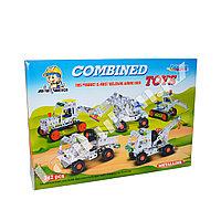 Металлический конструктор Combined Toys 242 детали 810D