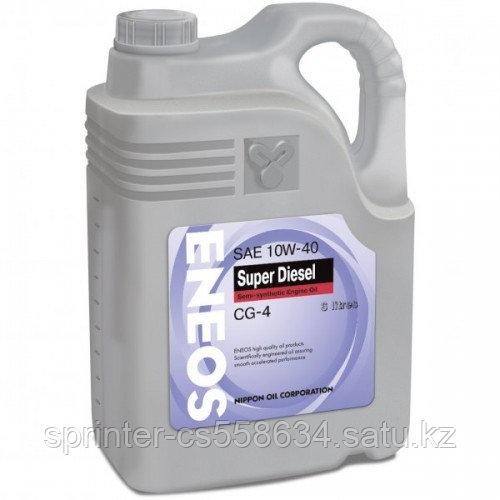 Моторное масло ENEOS SUPER DIESEL 10w40 6 литров