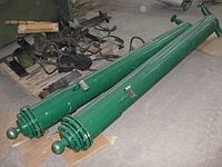 Гидроцилиндр для боковой платформы автомобилеразгрузчика в сборе  (без цепи) для автомобилеразгрузчиков У-А, фото 1
