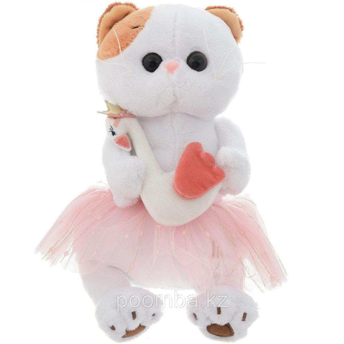 """Мягкая игрушка""""Кошечка Ли-Ли"""" - Балерина с лебедем"""