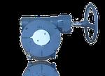 Редукторный привод для поворотных затворов 3700