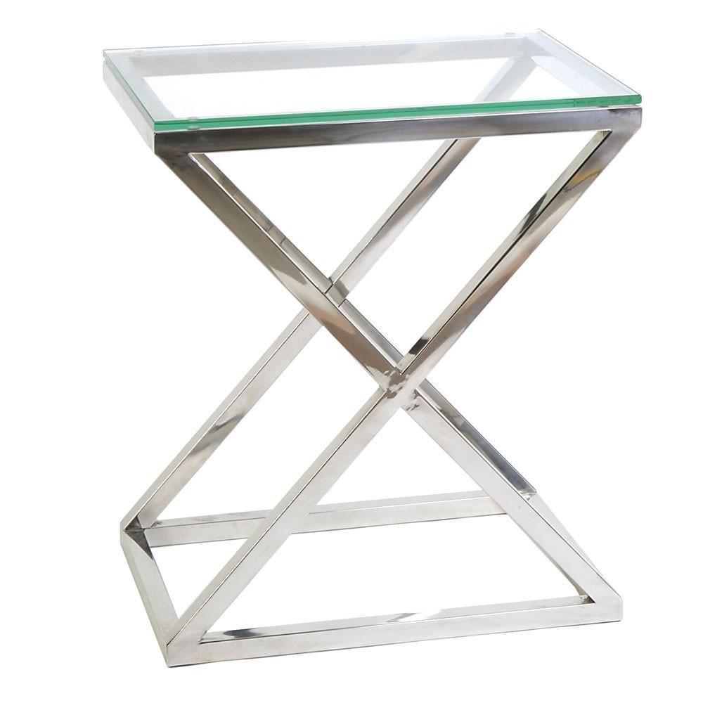 Каркасы для столов со стеклом из нержавейки