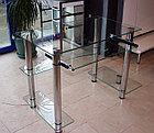 Каркасы для столов со стеклом из нержавейки, фото 4