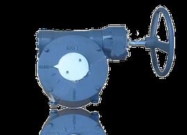 Редукторный привод для дисковых поворотных затворов 40-150 Faf 3700
