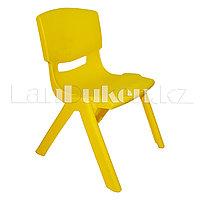 Детский стульчик 52 см (сидушка В27*Ш25) желтый