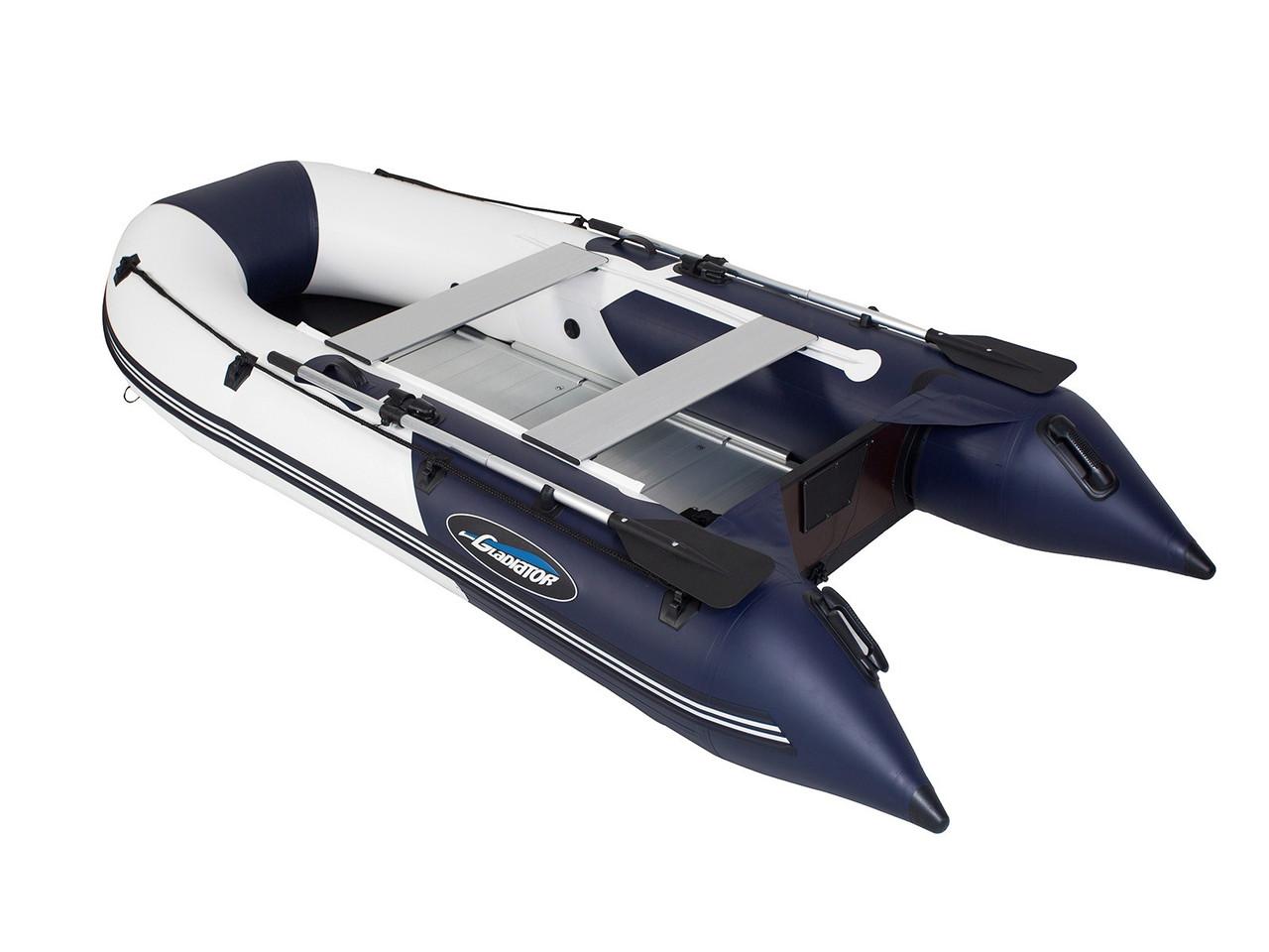 Моторная лодка ПВХ GLADIATOR B 300 AL с алюминиевым полом