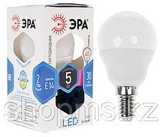 Лампа св/диод ЭРА LEDsmdP45-6w-827-E14 ECO***