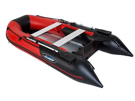 Моторная лодка ПВХ GLADIATOR B 370 AL с алюминиевым полом, фото 2