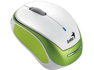Genius 31030112100 Мышь беспроводная MICRO TRAVELER 9000R V3, USB, Green