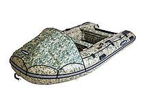 Моторная лодка ПВХ GLADIATOR E 350 CAMO Air с НДНД, фото 3