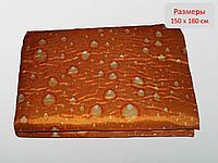Плед для пикника, оранжевый, 150*180 см, фото 1
