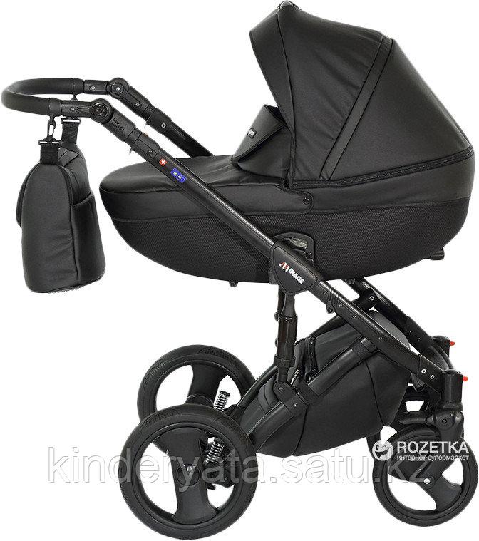 Детская коляска Verdi Mirage 3 в 1 Экокожа (1) black