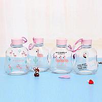 Бутылочка для воды Фламинго