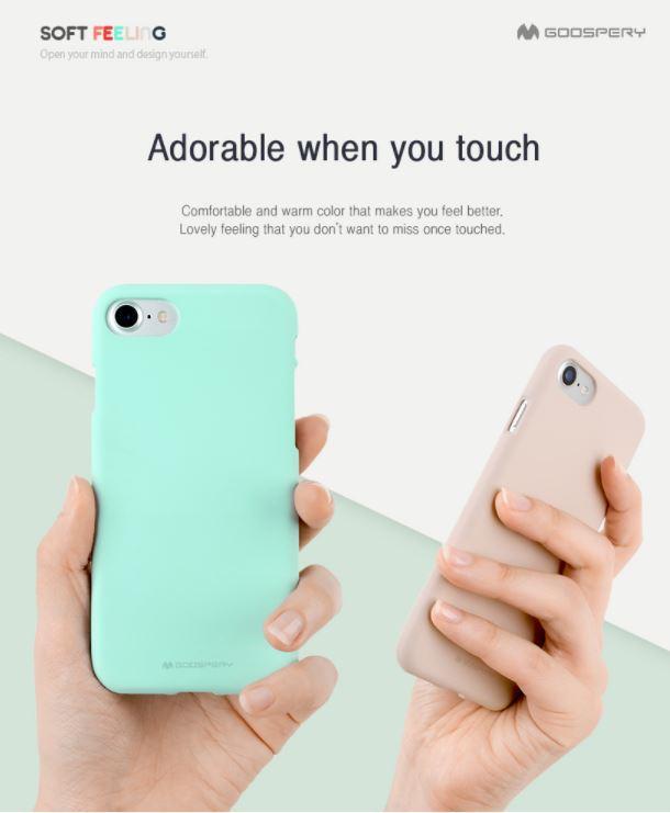Мягкие чехлы для смартфонов Softfeeling