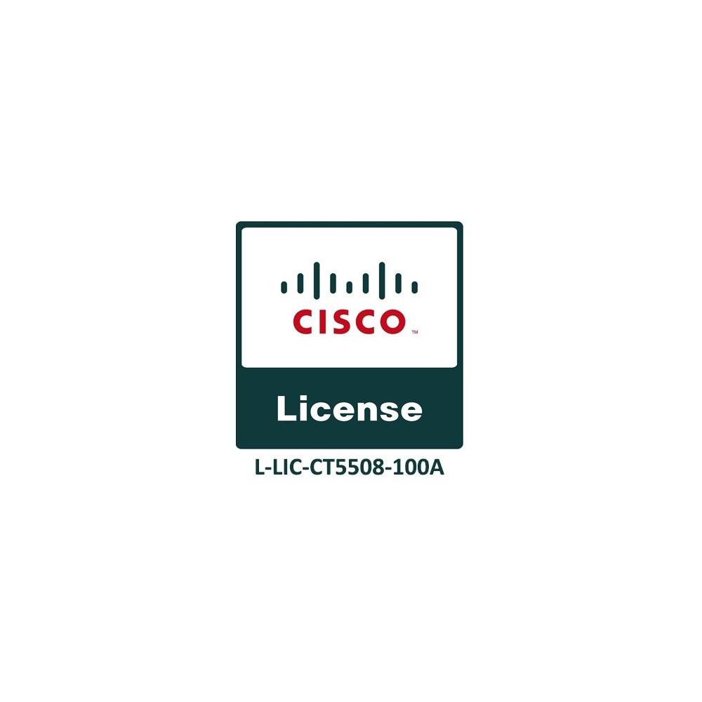 Лицензия Cisco L-LIC-CT5508-100A(eDelivery)