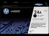 Лазерный картридж HP 24A (Оригинальный, Черный - Black) Q2624A