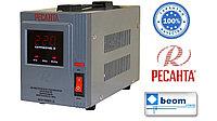 Стабилизатор напряжения электронный (релейный) 1,5 кВт - Ресанта ACH-1500/1-Ц
