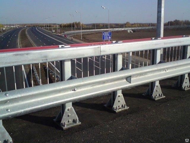 Мостовое ограждение 11МД-2,5-500 кДж У8