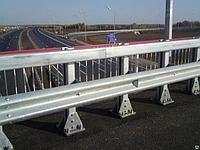 Мостовое ограждение 11МД-2,5-500 кДж У8, фото 1
