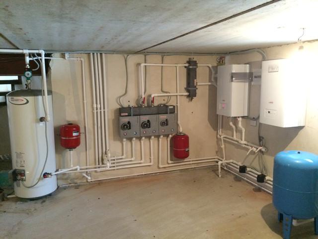 Внутренние инженерные системы. Системы отопления и сантехника.