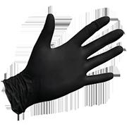 Перчатки нитриловые черный