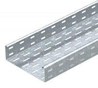 Кабельный листовой лоток перфорированный 60x100x3000 мм MKS 610 FS, фото 1