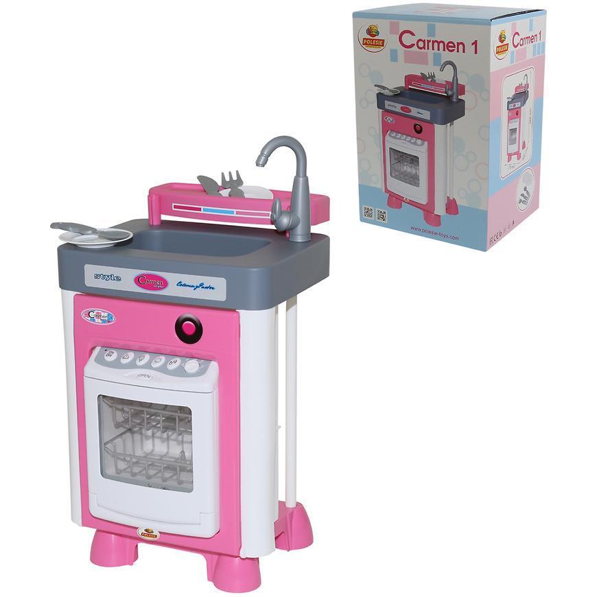 Набор Полесье Carmen №1 с посудомоечной машиной
